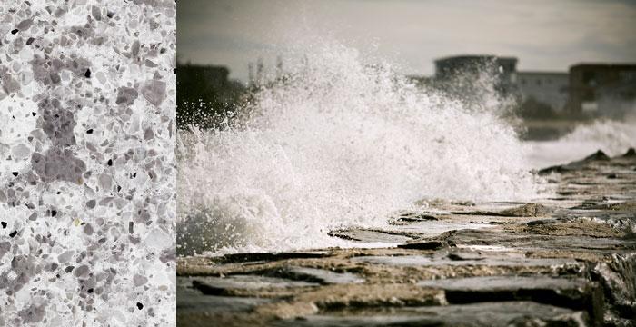 Atlantic Salt 6270 Omicron Granite Amp Tile