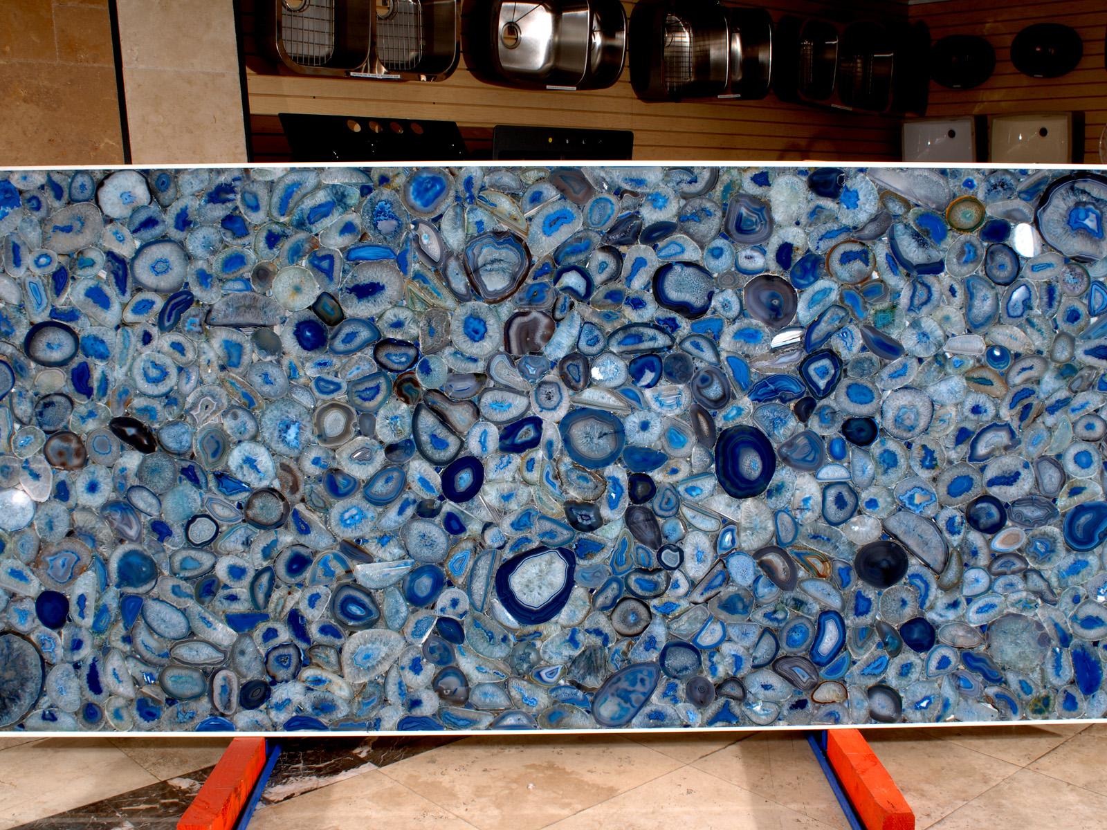 Blue Agate - 8531 - Omicron Granite & Tile