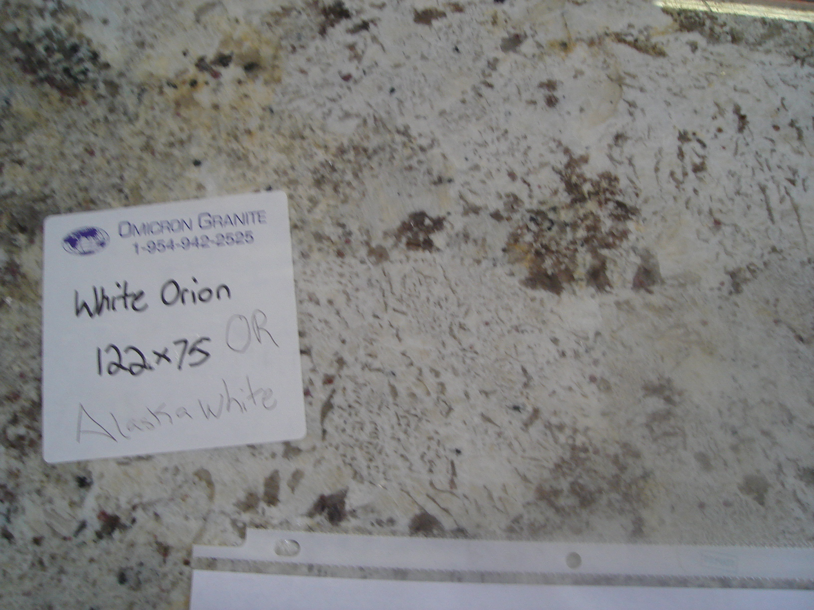 White Orion Omicron Granite Amp Tile