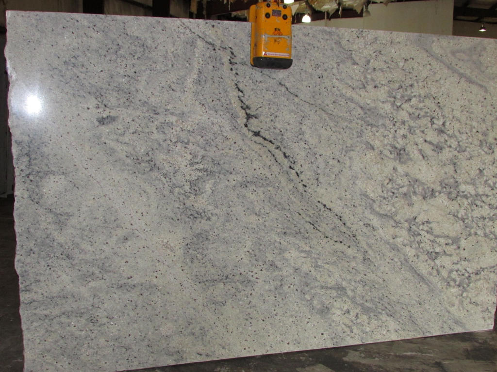 Bianco romano lot 21749 series omicron granite tile for Granito blanco romano