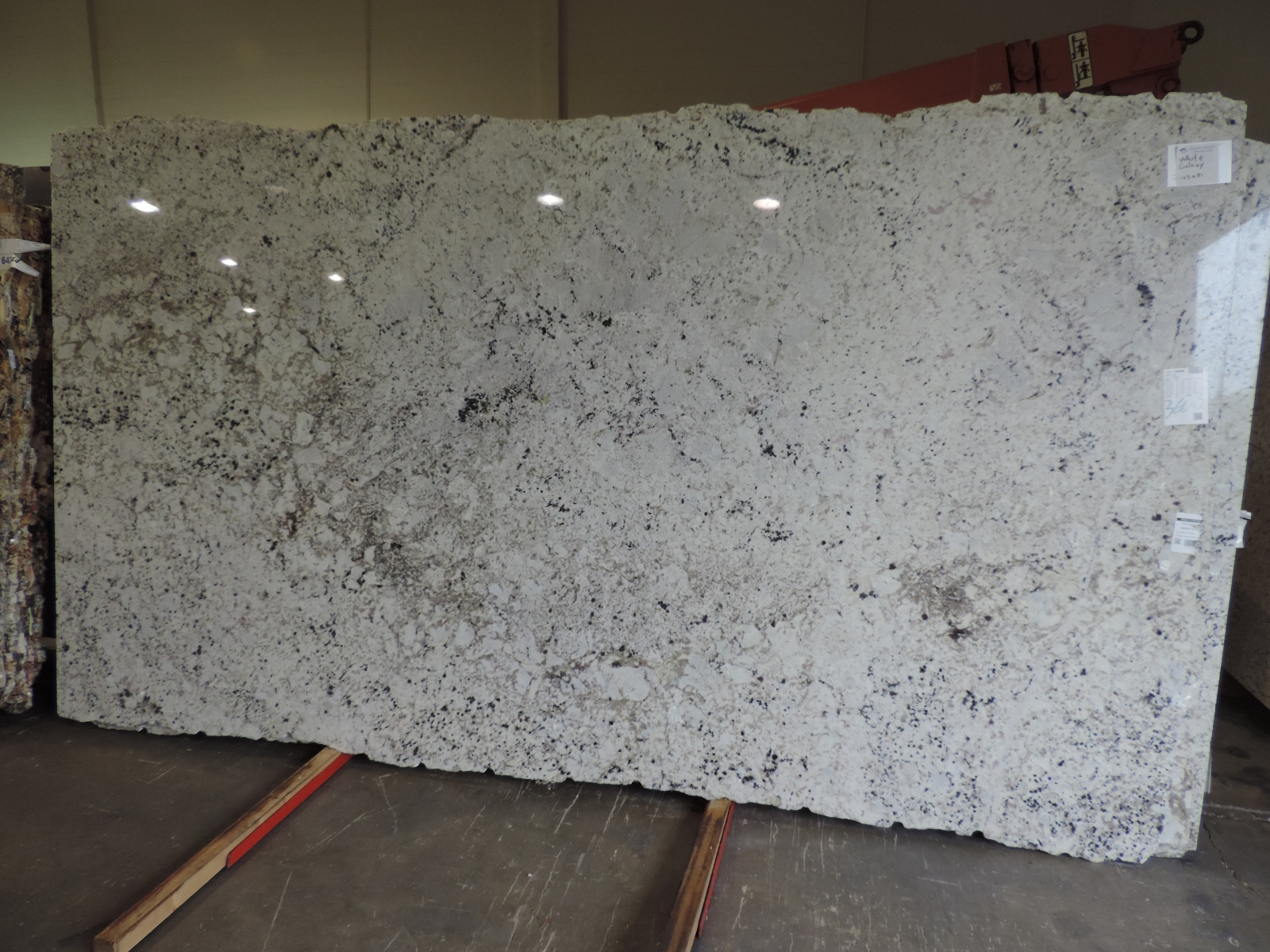White Galaxy Omicron Granite Tile
