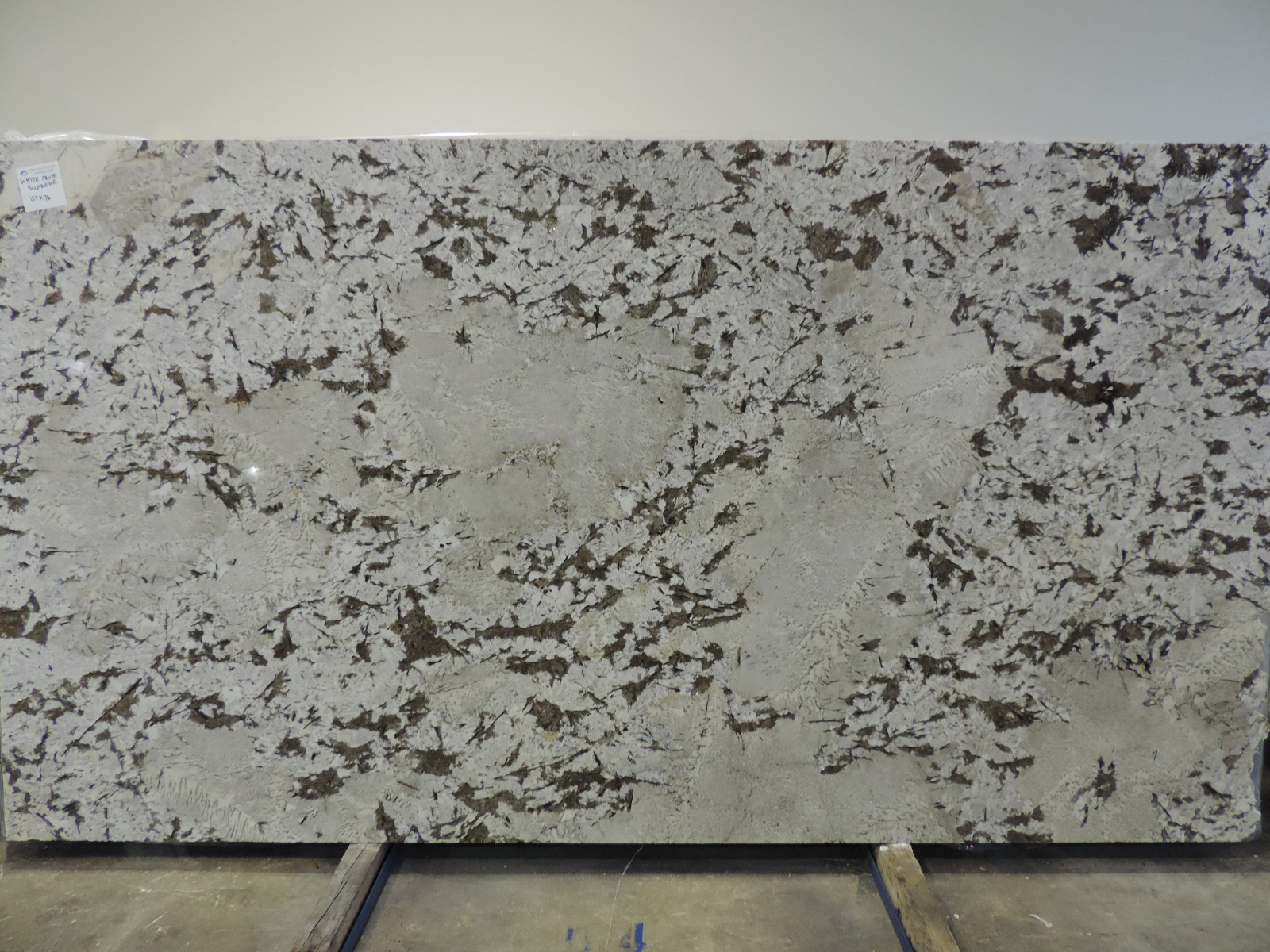 White Orion Supreme Omicron Granite Tile