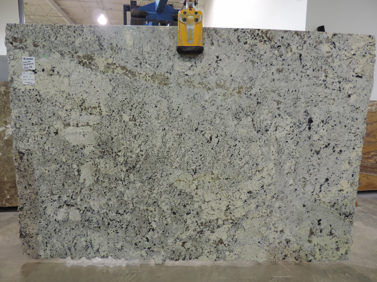 Alaska white supreme omicron granite tile Supreme white granite pictures