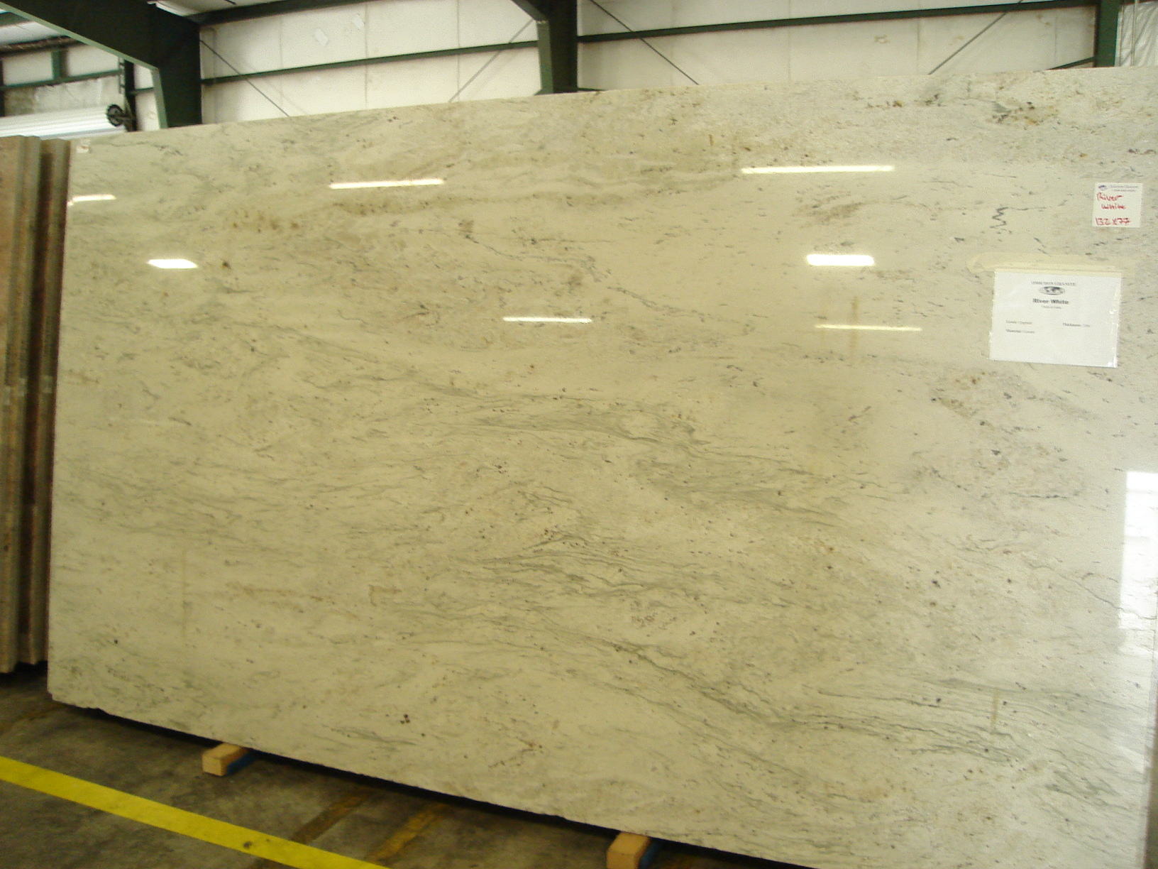 River White Omicron Granite Tile